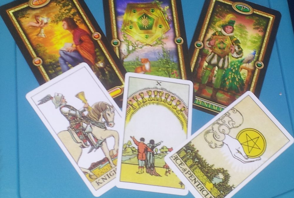 Tarot Reading with Multiple Decks