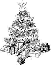The Major Arcana Finds Their Christmas Tree