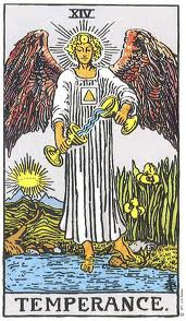 Temperance, Tarot and the New Year