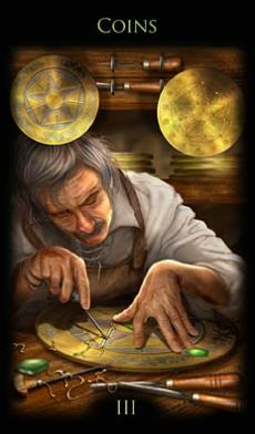 Tarot in My Life: Three of Pentacles – Body, Mind and Spirit