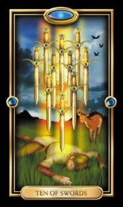 Tarot Translation Group: What Does the Ten of Swords Say to You?