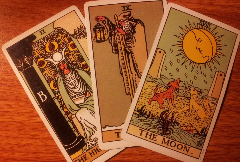 My First Internet Tarot Deck Trade