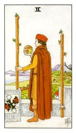 Answers to your Questions about Tarot: The Two of Wands