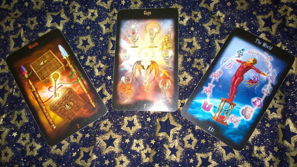 Three Tarot Cards to tell you the Future is Wide Open