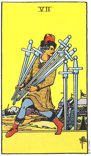 Being Honest about the Seven of Swords
