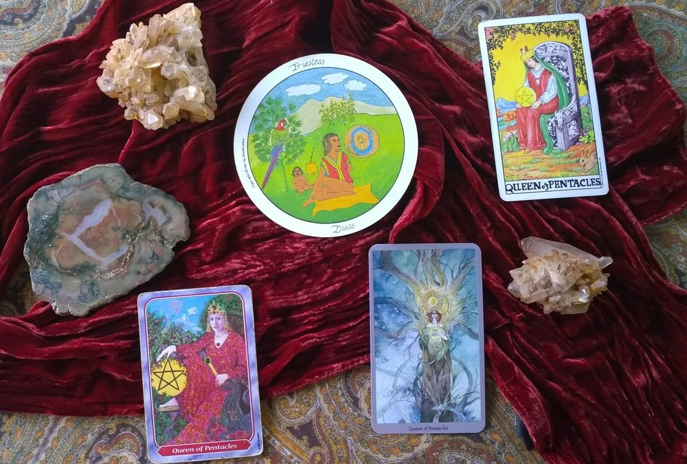Dancing with the Queen of Pentacles