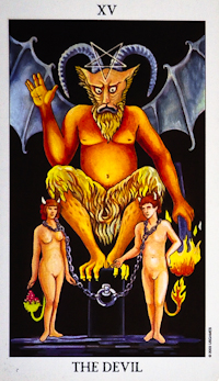 Answers to Your Questions about Tarot: The Devil, and Presenting the Darker Cards