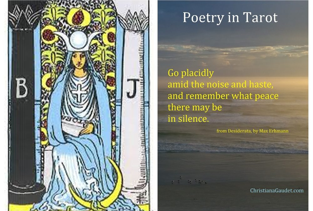 Poetry in Tarot: The High Priestess