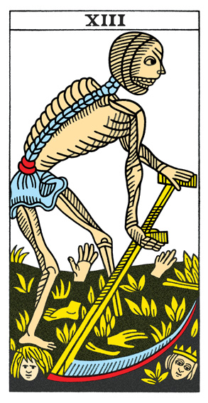 When Death Means Death; What's Your Tarot Theme Card?