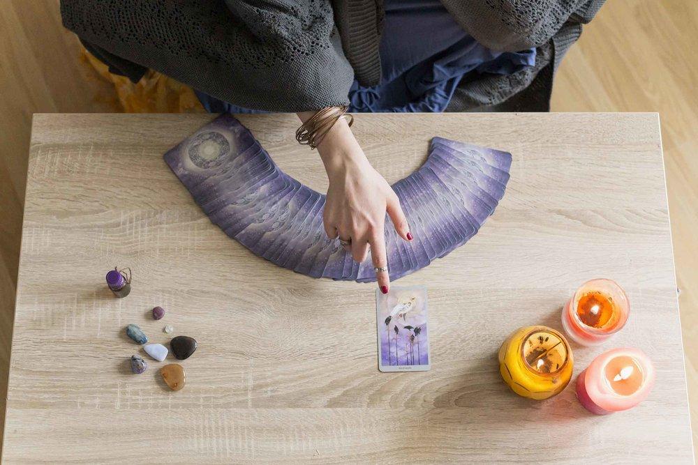 The Process in a Tarot Card