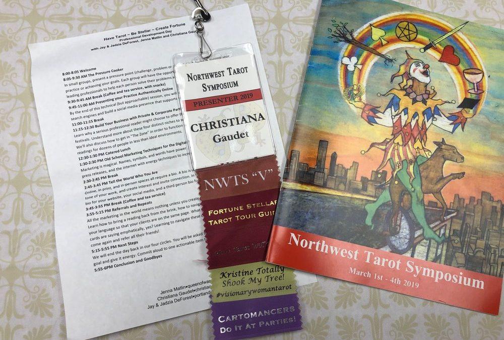Northwest Tarot Symposium 2019: My Adventure to Portland