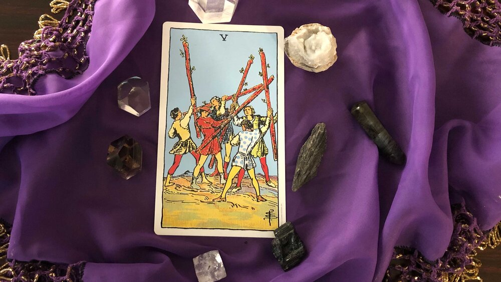 Unpacking the Five of Wands